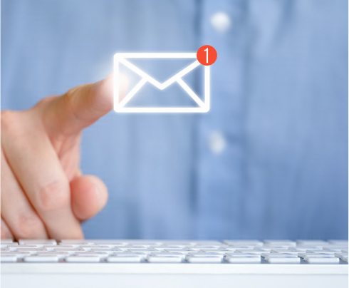Easily keep involved with your clients with our email marketing system.