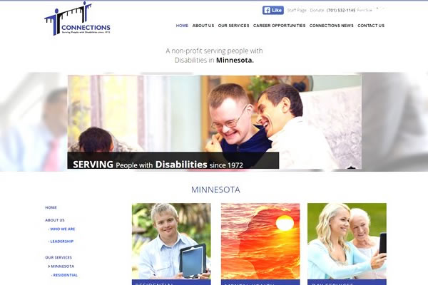 Non-profit websites by Simple Website Creations.