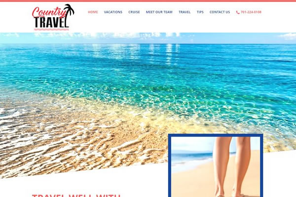 Travel Industry websites built by Simple Website Creations.