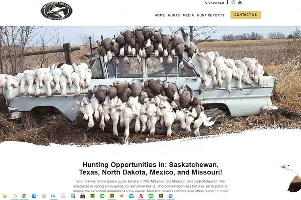 Websites for Hunting and Guide Services.