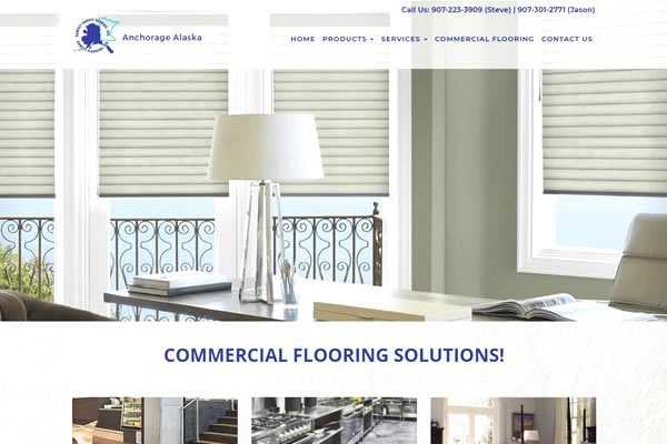 Flooring and retail websites.