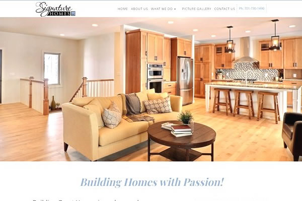 Get a website for your construction or building company.