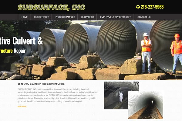 Websites for construction and trades organizations.