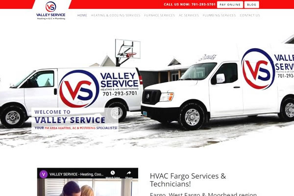 Websites for HVAC Companies.