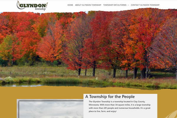 Websites for cities, townships, and more at Simple Website Creations.